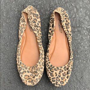 Lucky Brand cheetah flats!- size 8.5